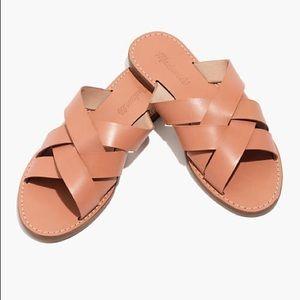Madewell The Boardwalk Slid Sandals sz 6